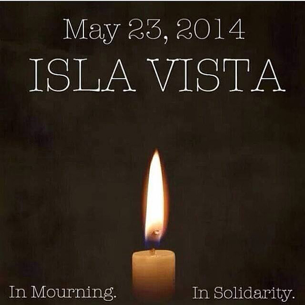 isla vista in mourning
